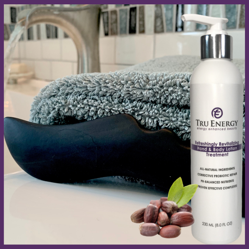 Tru Energy Body Sculpting Stone and Body Lotion Set